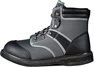 8 Fans Men's Felt Sole Wading Boots for Fishing Hunting Lightweight Wading Waders Boots