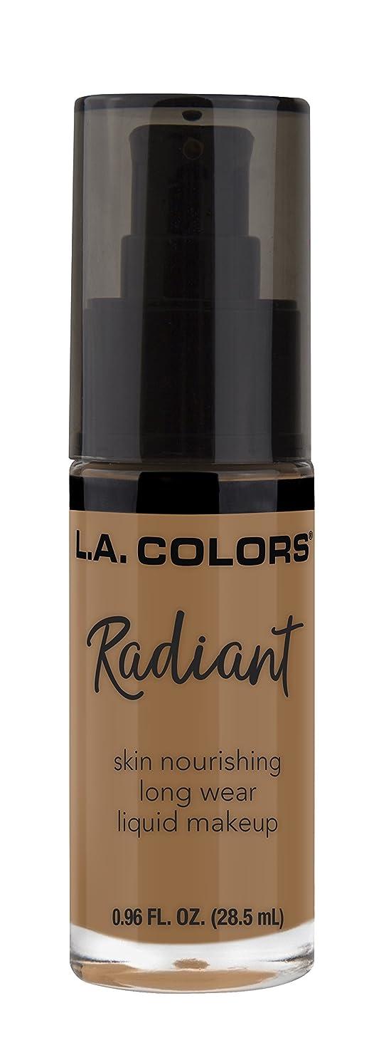 圧倒する地獄延期するL.A. COLORS Radiant Liquid Makeup - Chestnut (並行輸入品)