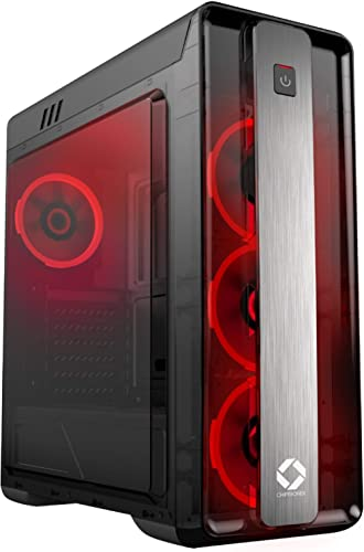 CHIPTRONEX GX2000 Mid Tower Gaming Cabinet ATX case 4 Fans preinstalled product image