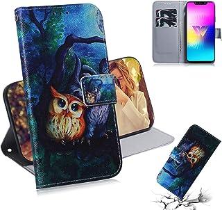 Custodia® 3D Relief Patterns Flip Wallet Case for LG W10 (Pattern 10)
