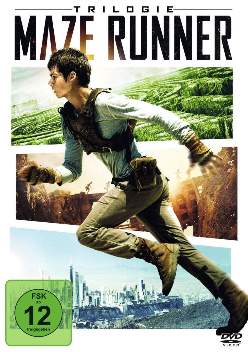 Maze Runner Trilogie [20 DVDs] Amazon.de O'Brien, Dylan, Brodie ...