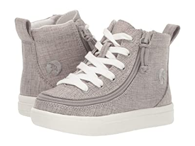 BILLY Footwear Kids Classic Lace High (Toddler) (Grey Jersey) Kid