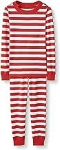 Hanna Andersson Kids Organic Cotton 2-Piece Long-Sleeve Pajama Set Stripes