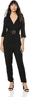 Sass Women's City Slicker Belted Jumpsuit