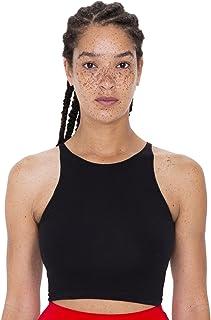 American Apparel Women's Cotton Spandex Sleeveless Crop Top