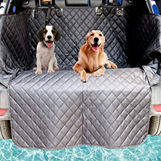 Car Boot Liner Protector for Dogs,Universal Waterproof Car Boot Cover for Dogs Pet,Trunk Dogs Cover Mat with Side Protecti...