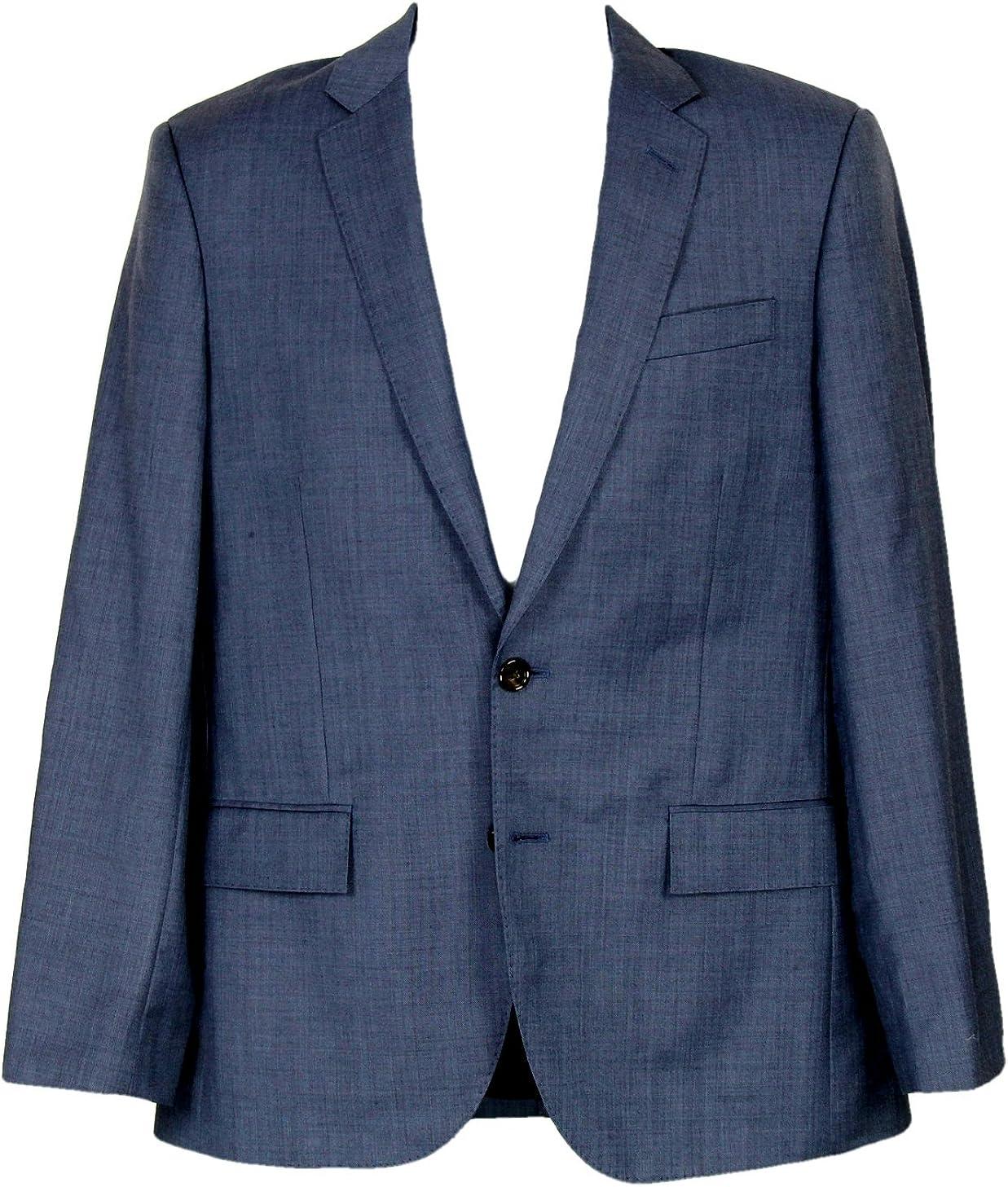 J Crew Ludlow Suit Jacket Double Vent Italian Worsted Wool 38R 11707 Harbor Blue