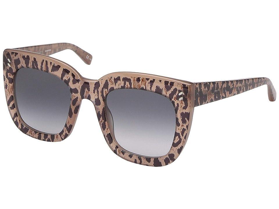 Stella McCartney SC0033S (Black/Black/Grey) Fashion Sunglasses