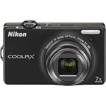 Nikon デジタルカメラ COOLPIX (クールピクス) S6000 ノーブルブラック S6000BK