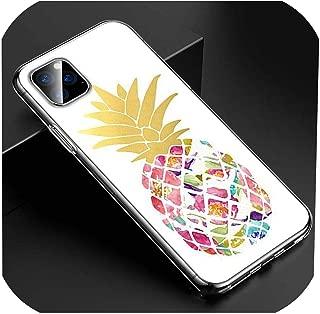 透明クリアTpuカバーサマービーチパインIphone 11 11Pro Xs Max Xr X 8 7 6S 6プラス5S電話ケース、Iphone 7プラス、スタイル07
