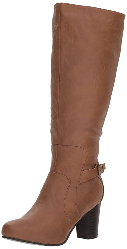 地獄廃止物理的に[Brinley Co] Women 's Jimmi Engineer Boot Regular & Wide Calf
