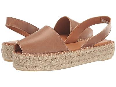 ALOHAS Ibizas Platform Espadrille Sandal (Camel) Women