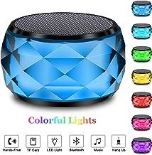 LED Bluetooth Speaker,LFS Night Light Wireless Speaker,...