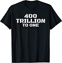 400 trillion to 1