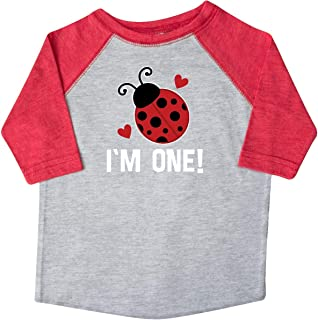 First Birthday Ladybug 1 Year Old Toddler T-Shirt