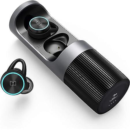 Monster Clarity 101 True Wireless Earbuds, Bluetooth 5.0 Wireless Earphones, Hi-FI Stereo Deep Bass in-Ear Headphones, Built in Mic Headset, Touch Control 36 Hours Playback IPX5 Waterproof for Sports
