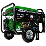 Duromax XP4850EH 3850 Running Watts/4850 Starting Watts Dual Fuel Electric Start Portable GeneratorDuromax XP4850EH 3850 Running Watts/4850 Starting… by ...