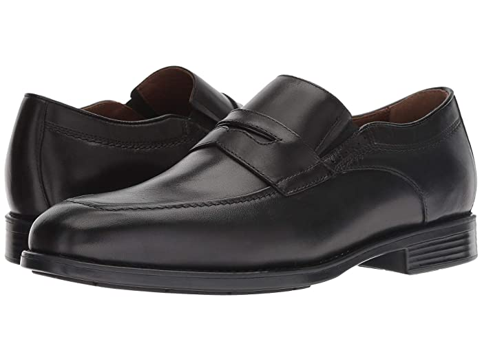 Johnston and Murphy  Waterproof XC4 Branning Casual Penny (Black) Mens Shoes