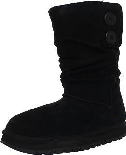 حذاء سكيتشرز كيبساكس الفريزينغ تيمبس المبطن بالفرو الصناعي