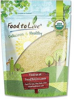 Organic Almond Flour, 1 Pound — Extra Fine Blanched Prime Meal, Non-GMO, Low Carb, Culinary Grade, Kosher, Keto, Paleo and Vegan Super Powder, Bulk