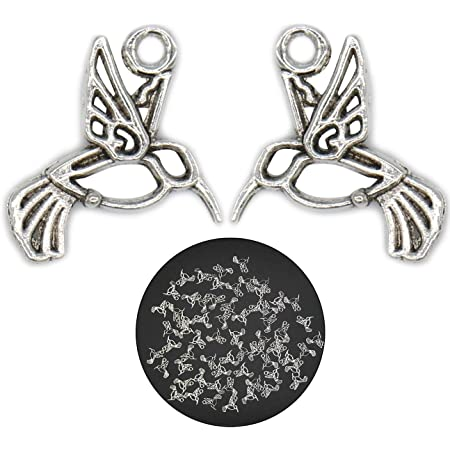 10 Tibetan Silver Alloy Tercel Wings Charms Penadant for Necklace Making 15*48mm