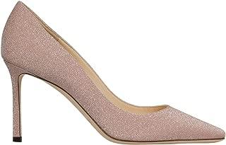 JIMMY CHOO Luxury Fashion Womens ROMY85XGCBALLETPINK Pink Pumps | Fall Winter 19