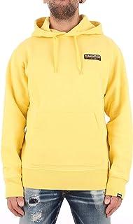 Sudadera con Capucha, Color Amarillo