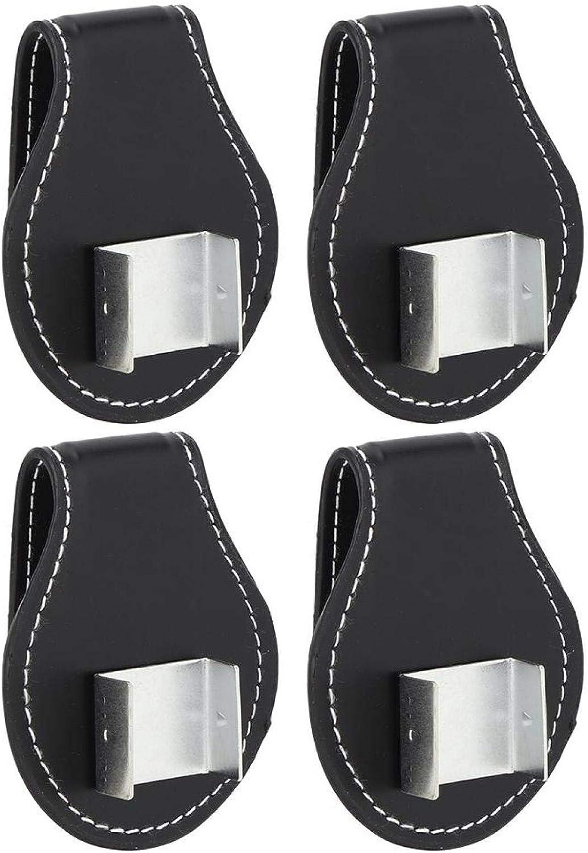 Moh Billiard Chalk Clip 4PCS Direct store PU Leather Portable Accurat Compact Genuine Free Shipping