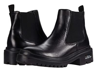 Blondo Cayla Waterproof Bootie (Black Leather) Women