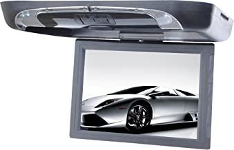 Tview T1591DVFD-GR 15-Inch Flip Down with Built-in DVD Player (Gray)
