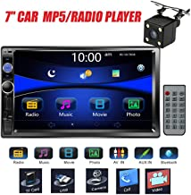 "Regetek Car Stereo Double Din 7"" Touchscreen in Dash Stereo Car Audio Video Player.."