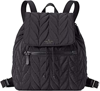 Kate Spade Ellie Large Black Nylon Backpack