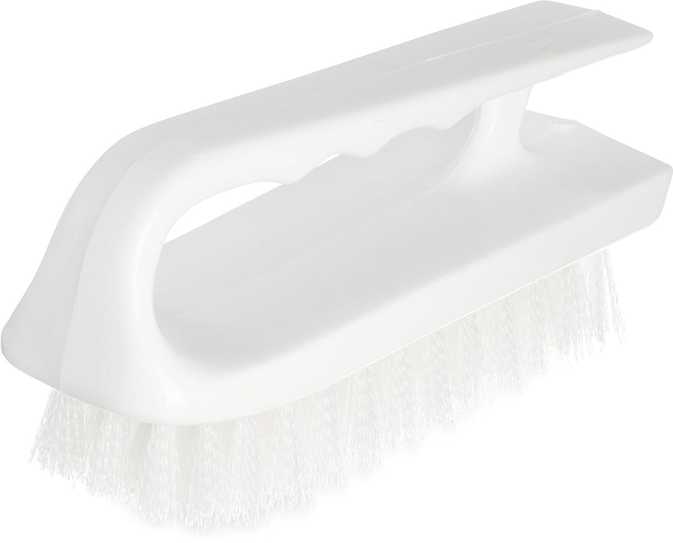 著作権マトン短くするカーライル 洗浄ブラシ アイロンハンドルブラシ 40024-02 白