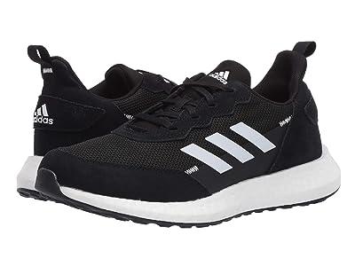 adidas Kids RapidaBoost SL (Big Kid) (Black/White/Grey) Boy