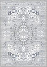Turkish Carpet with Soft Touch - Light Grey With Embossed