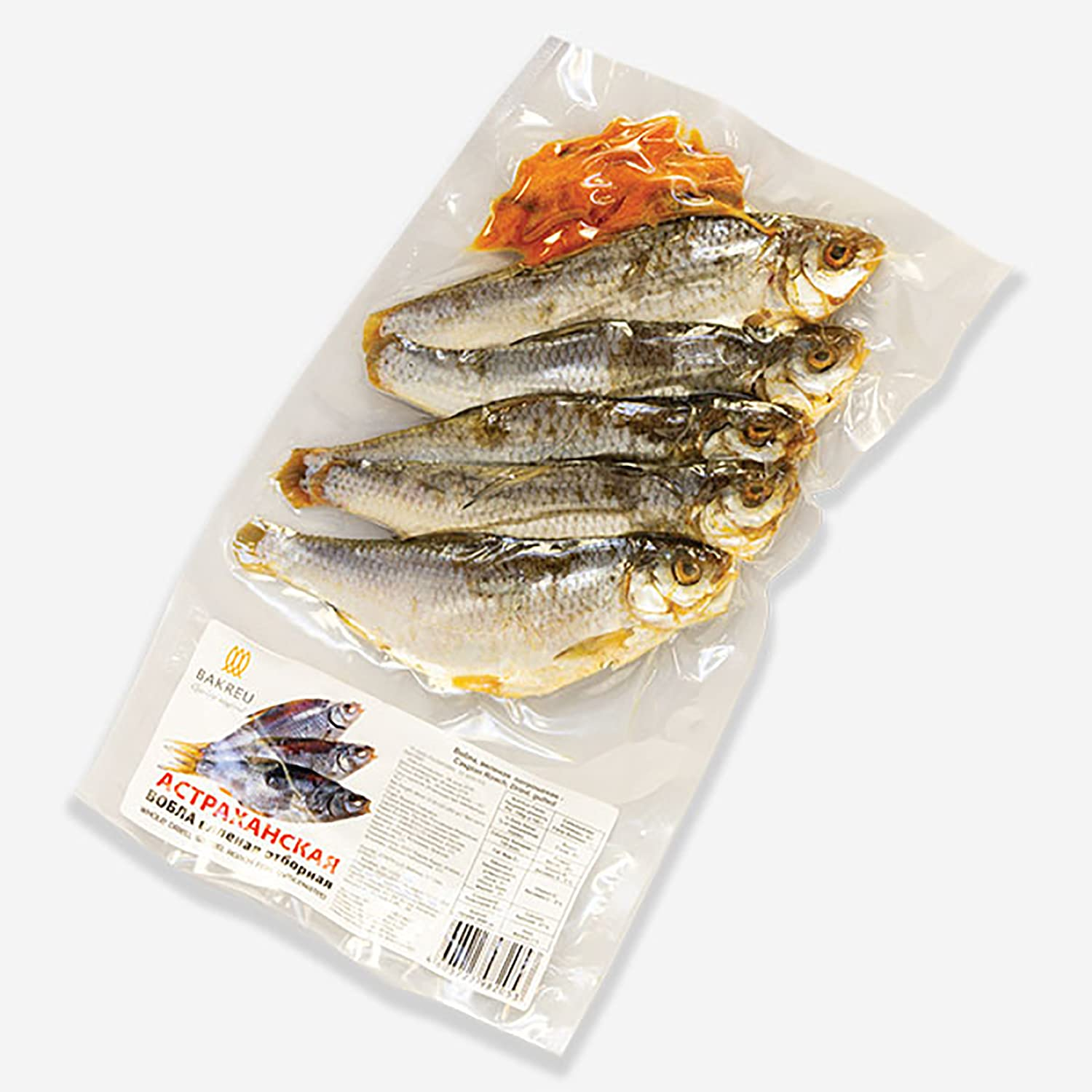 Caspian Roach Vobla Dried With Pack 2 13oz Caviar supreme of Shipping included