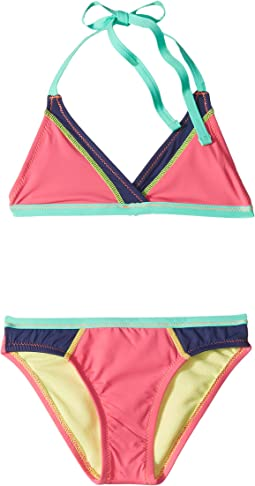 Stitch Perfect Surplice Triangle & Hipster Set (Big Kids)