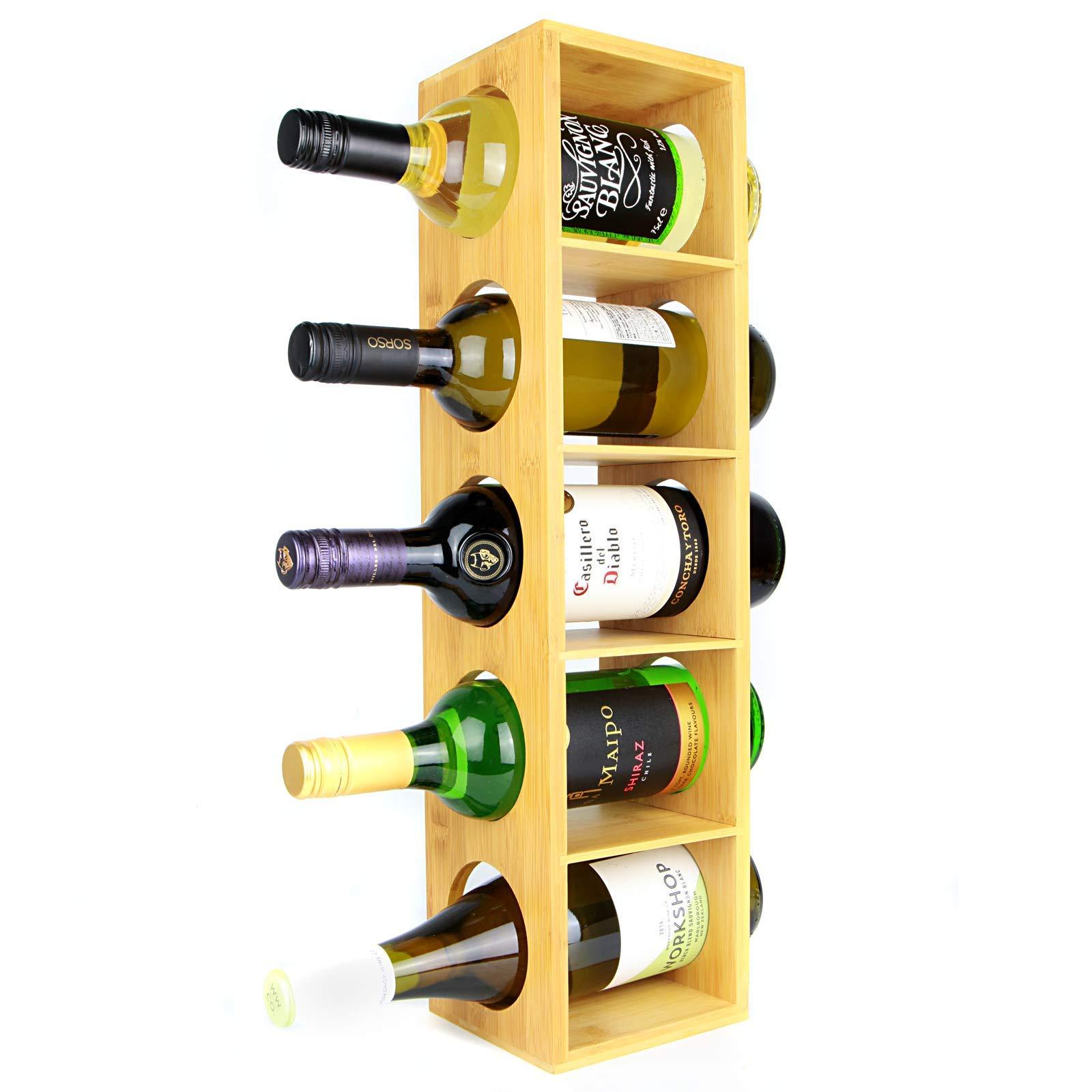 Chrome KIMCO StackRack 6 x 6-Bottle Racks