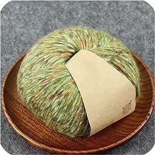 50g Woollen Colorful Alpaca Velvet Wool Cashmere Yarn for Hand Knitting Crochet DIY Sweater Scarf Thread,4