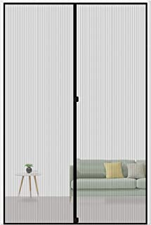 MAGZO Magnetic Screen Door 36 x 96, Reinforced Fiberglass Mesh Curtain Entry Door Mesh..