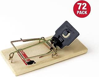 Catchmaster Instant Kill Mouse Snap Traps - Bulk Case - 72 Mouse Traps