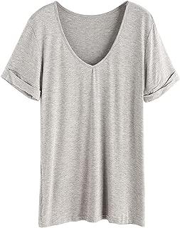 Women's Summer Short Sleeve Loose Casual Tee T-Shirt
