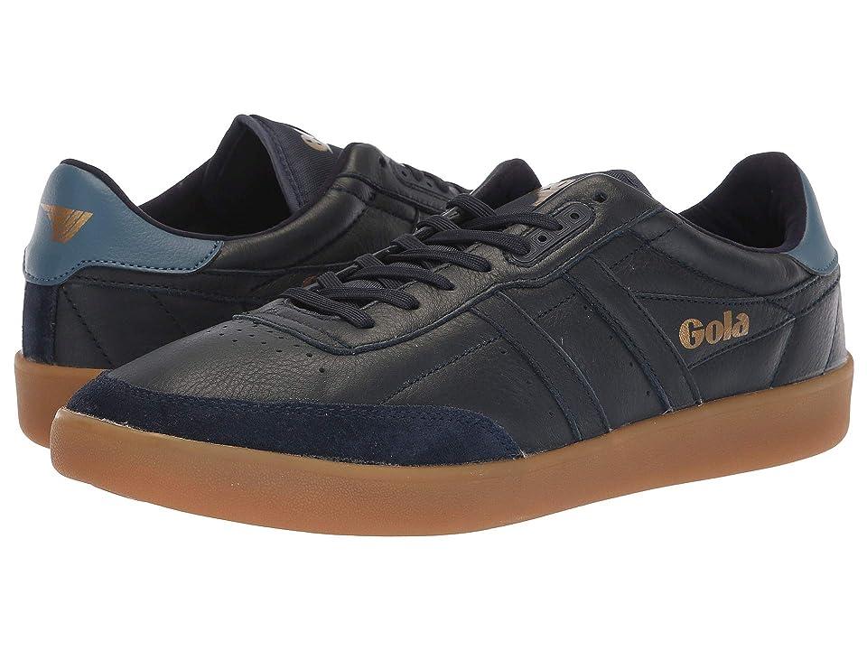 Gola Inca Leather (Navy/Baltic/Gum) Men