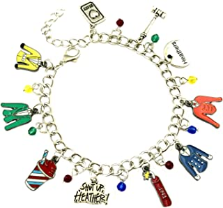 Heathers Broadway Musical Charm Bracelet Jewelry Series w/Gift Box