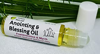Urban ReLeaf Anointing and Blessing Oil Roll-On ! Smells Great! Frankincense, Myrrh, Holy Bible Oils, Olive, Grapeseed. Bl...