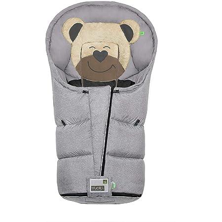 Odenwälder Fußsack Lo Go Fashion New Woven Farbe 1078 Soft Grey Baby