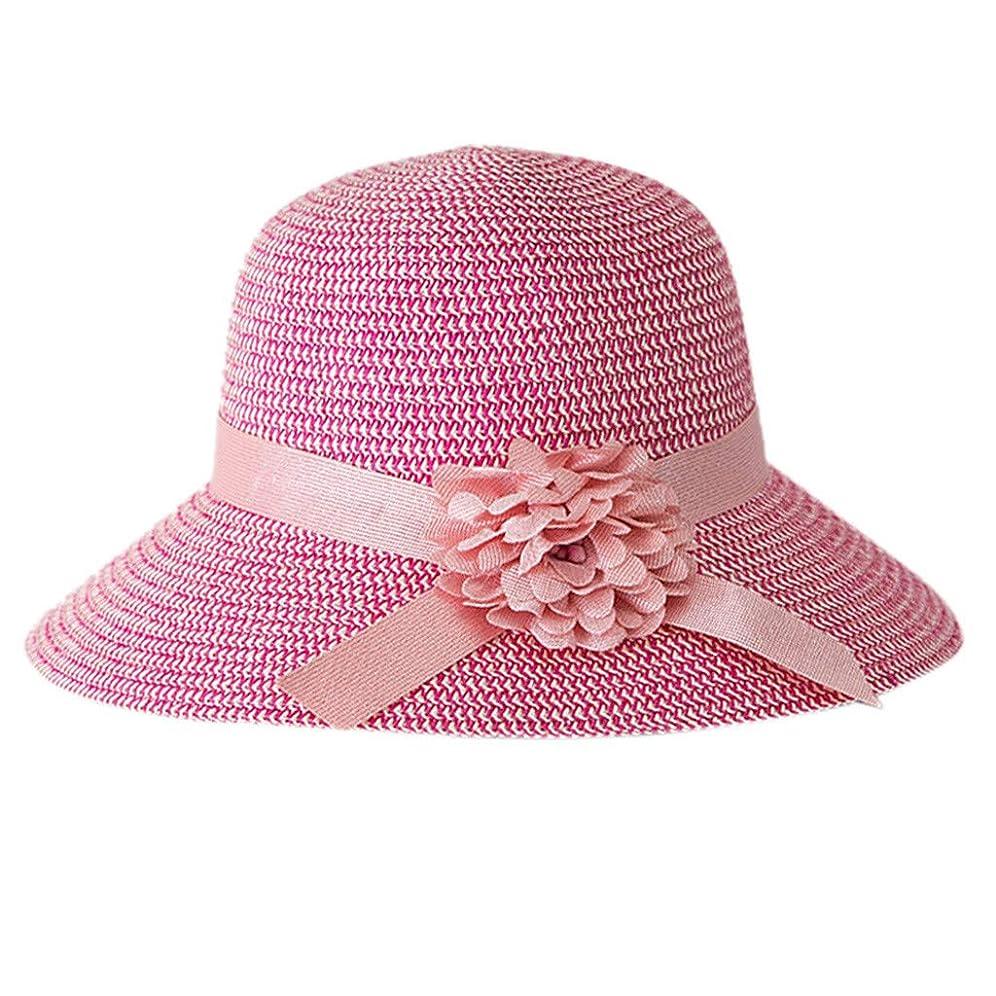 卑しい特許ヒール日よけ帽子 レディース ハット 帽子 日よけ サンバイザー ウォーキング UVカット ハット 紫外線対策 可愛い 小顔効果抜群 大きいサイズ つば広 折りたたみ ハット レディース 夏 春 アウトドア 無地 花 ROSE ROMAN