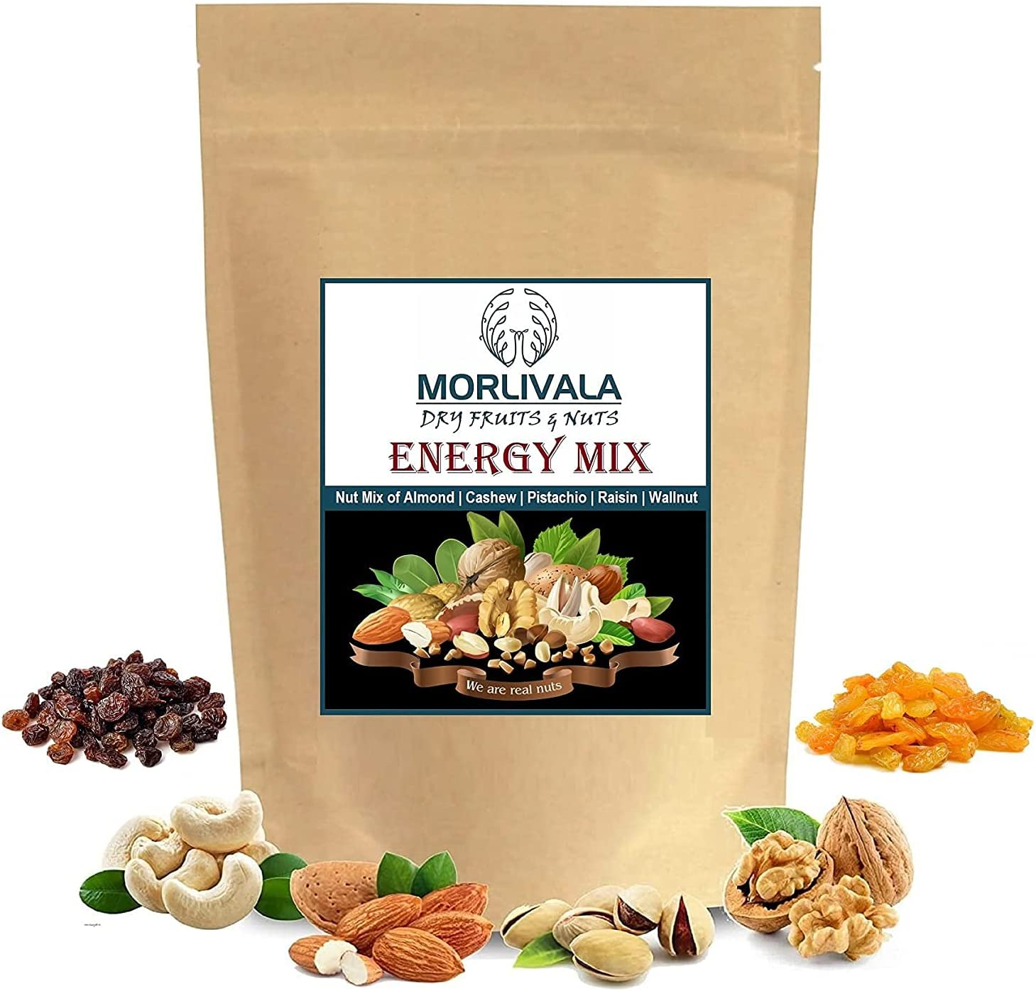 Gannon Morlivala OFFicial site 100% Natural Classic Premium Nut Mix Healthy Fresh Dr