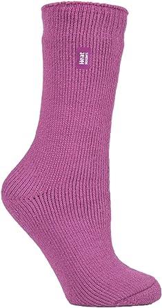 Heat Holders Women's Original Thermal Socks (UK 4-8 US 5-9, Muted Pink)