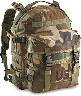 U.S. Military Surplus MOLLE II Woodland Camo 3 Day Assault Pack Backpack